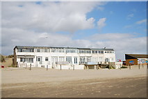 TQ9618 : Beachfront houses, Camber Sands by N Chadwick