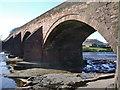 NY3768 : Longtown Bridge over the River Esk by Alexander P Kapp