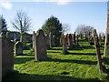 NY3767 : The Parish Church of St Michael & All Angels, Arthuret, Graveyard by Alexander P Kapp