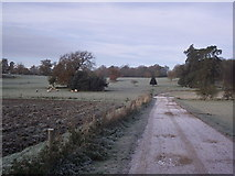 TL8162 : Frost Covered Countryside by Keith Evans