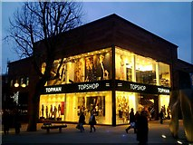 SU1484 : Topshop, The Parade, Swindon by Brian Robert Marshall