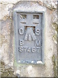 SH5571 : Flush bracket S7467 on old Sunday school, Menai Bridge by Meirion