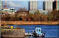 J3473 : Dredging the River Lagan, Belfast -  2010/11 (75) by Albert Bridge