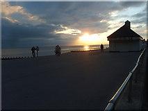 SZ9398 : Bognor Beach Sunset by Gordon Griffiths