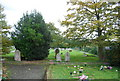 TQ8865 : St Bartholomew's Churchyard, Bobbing by N Chadwick