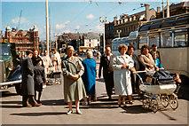 SD3036 : The Promenade, Blackpool, 1961 by Alfred Dixon