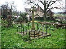 NY4057 : St Michael's Church, Stanwix, Carlisle, Grave by Alexander P Kapp