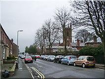 NY4057 : Church Street, Stanwix, Carlisle by Alexander P Kapp