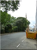 TQ2878 : Skip in Chester Square by Basher Eyre