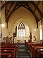 NY3561 : The Parish Church of St Mary the Virgin, Rockcliffe and Cargo, Interior by Alexander P Kapp