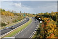 TQ8763 : A249 north eastwards by N Chadwick
