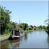 SJ9214 : Staffordshire and Worcestershire Canal at Penkridge, Staffordshire by Roger  Kidd