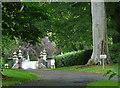 NU0411 : Gates near Whittingham by Stephen Richards