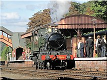 SO7975 : The Island Platform - Bewdley Station by K  A