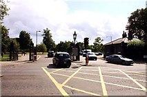 TQ2780 : Victoria Gate on Bayswater Road by Steve Daniels