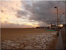 TG5307 : Great Yarmouth: view south from Britannia Pier by Chris Downer