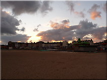 TG5307 : Great Yarmouth: inland view from Britannia Pier by Chris Downer