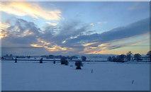NS4565 : Fields at Blackstoun by Thomas Nugent