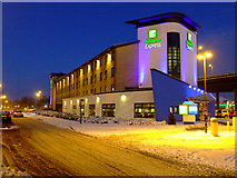 NS4865 : Glasgow Airport Holiday Inn Express by Thomas Nugent
