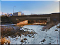 SD8904 : Oldham Broadway Bridge by David Dixon