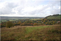 TQ5359 : View to the Darent Gap by N Chadwick