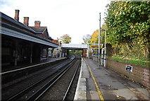 TQ5359 : Otford Station (looking north) by N Chadwick
