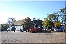 TQ7825 : National Trust gift Shop, Bodiam Castle by N Chadwick