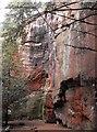 SJ3819 : Kynaston's cave by Penny Mayes