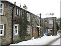 SD9772 : Icicles on a house in Kettlewell by Stephen Craven