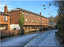 SO8171 : Former Baldwins' warehouse by Staffordshire & Worcestershire Canal by P L Chadwick