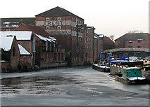 SK7953 : Newark: Trent Navigation warehouses by John Sutton