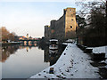 SK7954 : Newark Castle and the Trent by John Sutton