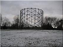 TQ2696 : New Barnet: The gasometer by Nigel Cox