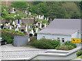 B9130 : Gortahork Cemetery from the Christ the King Church steps by Charlie McHugh