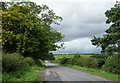 NU1924 : Country road near Preston (1) by Stephen Richards