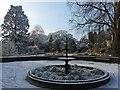 ST3087 : Hoar frost in Belle Vue Park [6] by Robin Drayton