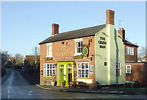 SO8690 : The Green Man at Swindon, Staffordshire by Roger  Kidd