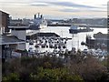 NZ4058 : Sunderland Marina from Harbour View by Andrew Curtis