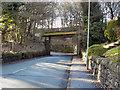 SD7314 : Chapeltown Road Railway Bridge by David Dixon