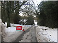 TQ4356 : Closed Tatsfield Lane by David Anstiss