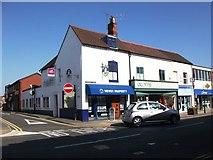 SP2871 : Newey Property and Acorns hospice shop, 1 and 3 Warwick Road, Kenilworth by John Brightley