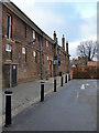 TQ1568 : The Barrack Block, Hampton Court (1) by Stefan Czapski