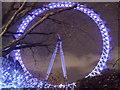 TQ3079 : London Eye at night by Paul Gillett