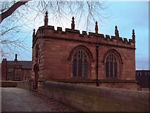 SK4293 : Chapel of Our Lady of Rotherham Bridge by Jonathan Clitheroe