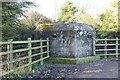 SP3701 : Pillbox at the farm by Bill Nicholls
