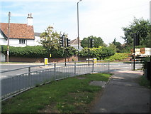 TM2850 : Looking from Melton Primary School into Wilford Bridge Road by Basher Eyre