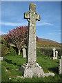 SW4538 : Gravestone in Zennor Churchyard by Philip Halling