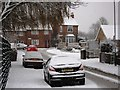 SP2972 : Whateleys Drive in the snow by John Brightley