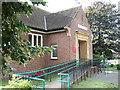 ST5677 : Westbury on Trym public library by C P Smith
