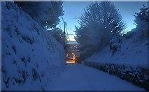 SS9412 : Tiverton : Baker's Hill by Lewis Clarke